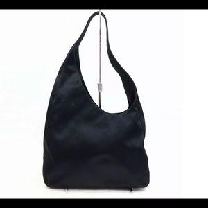 Authentic Prada Vintage Shoulder Bag Black